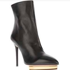 Charlotte Olympia 'Deborah' Leather Boots